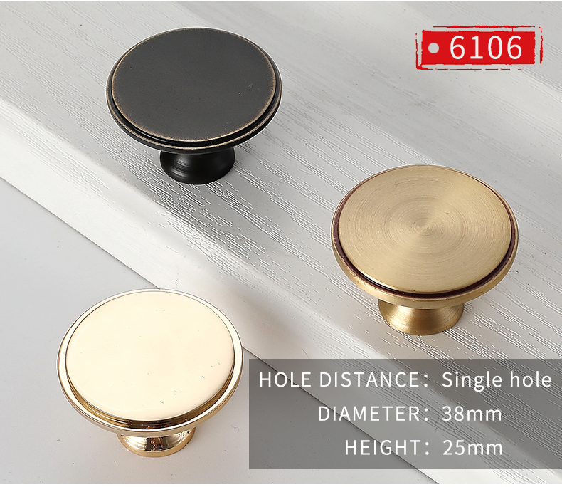 Hot sale brass bedroom hardware furniture kitchen cupboard cabinet drawer knobs